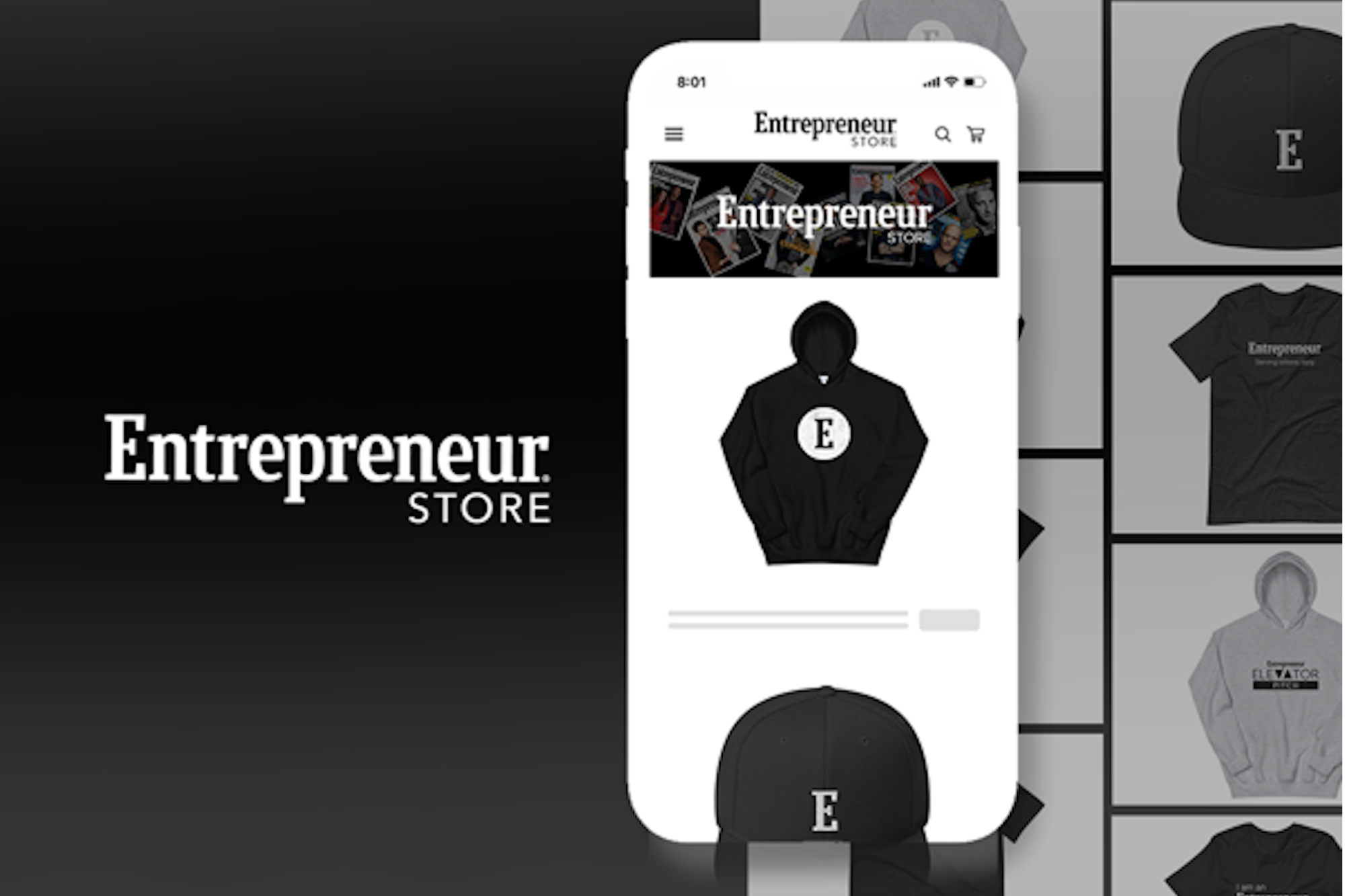 Love Entrepreneur? Then Check Out Our Merch During This Black Friday Sale.